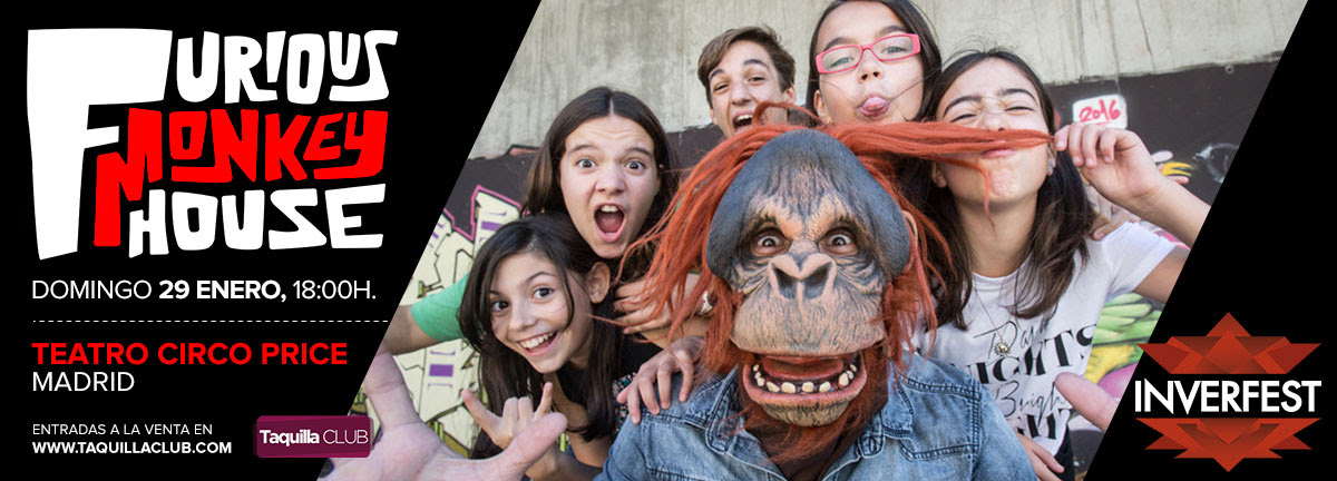 Concierto de Furious Monkey House en Teatro Circo Price