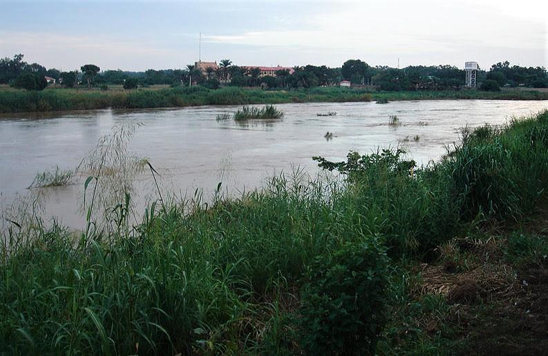 Kaduna River, Kaduna state, Nigeria. (Jula2812, Wikipedia)