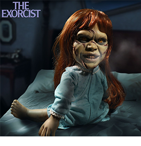 MEZCO HORROR: THE EXORCIST MEGA SCALE REGAN WITH SOUND