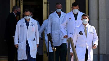 El equipo médico de Trump afirma que el presidente ha experimentado bajas de oxígeno en la sangre