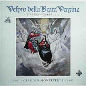 Vespro Della Beata Vergine »Marien-Vesper 1610« (Vinyl, LP, Stereo) album cover