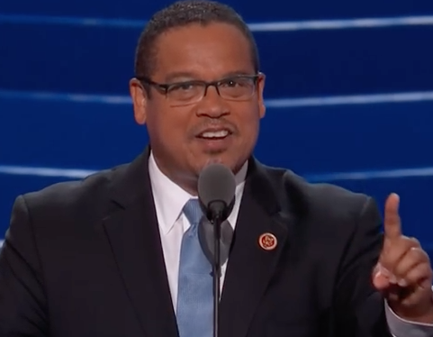 Turn on images to see Rep. Keith Ellison.