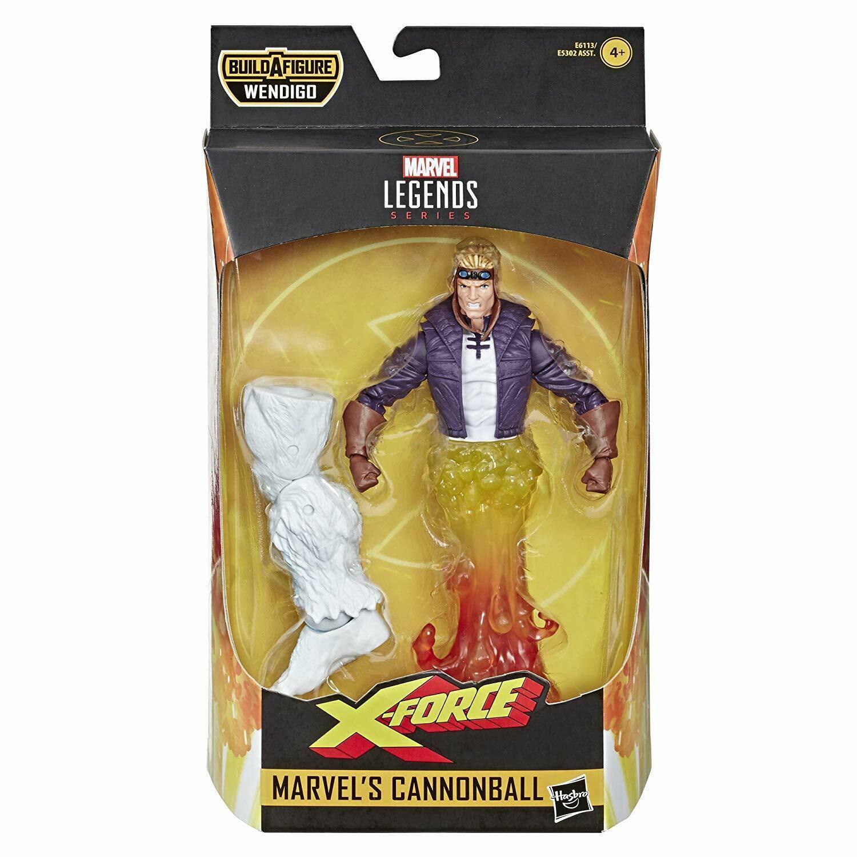 Image of X-Force Marvel Legends Wave 1 (Wendigo BAF) - Cannonball