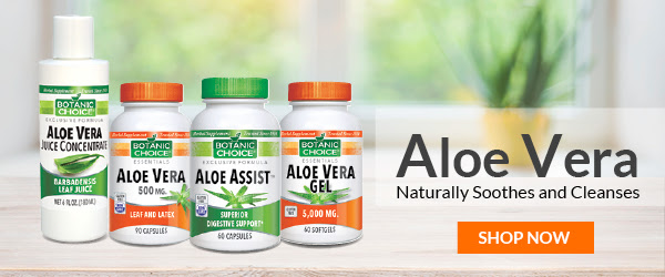 Aloe Vera capsules and skin care products are some of our most popular nutritional offerings.