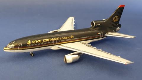 L-1011 Tristar Royal Jordanian JY-AGD