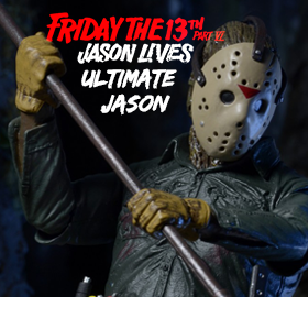 ULTIMATE PART VI JASON FIGURE