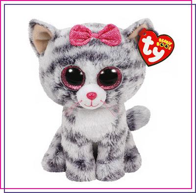 TY Beanie Boos Small Kiki the Kitten Plush Toy
