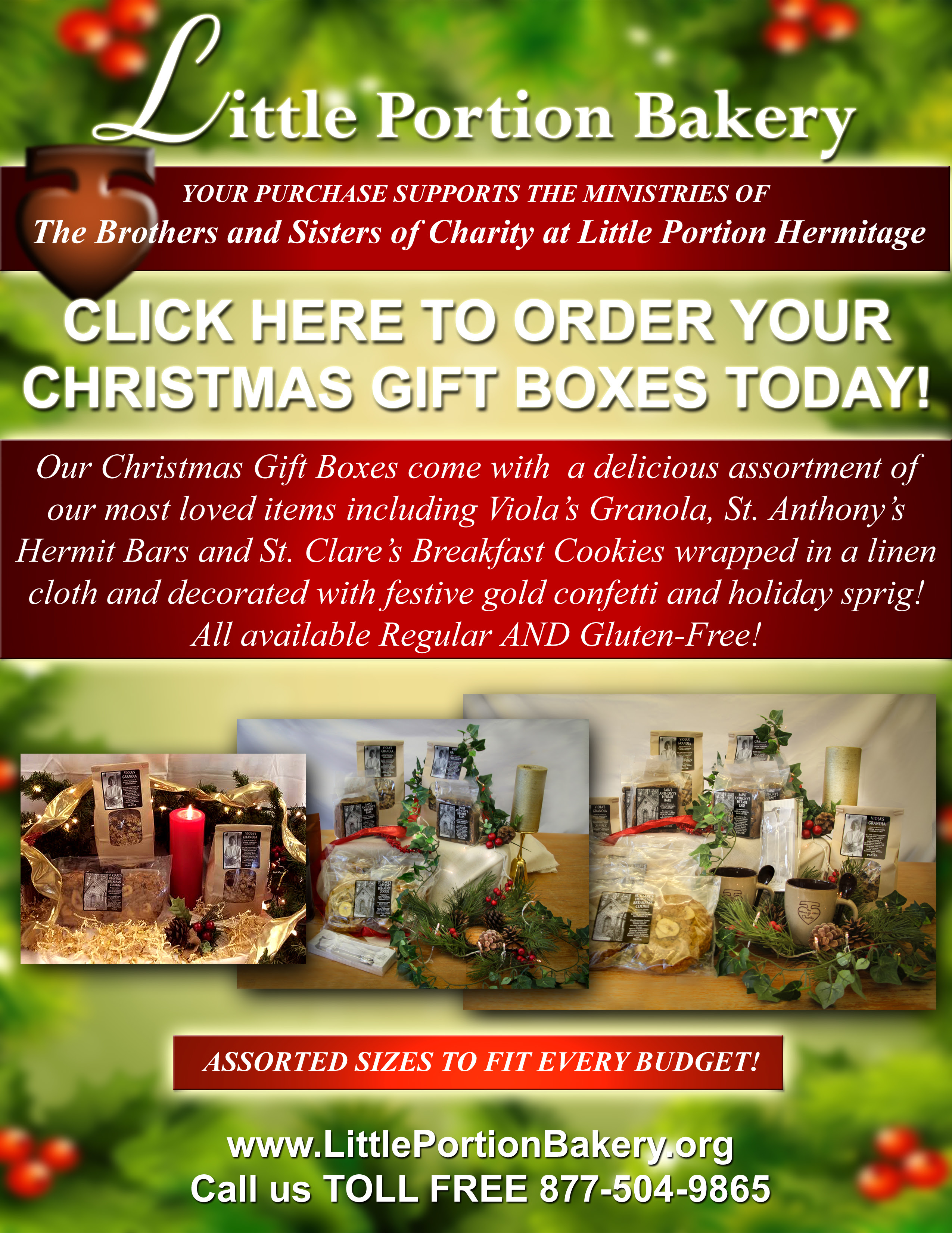 Missionary Renegade: DELICIOUS Christmas Gifts from Little Portion ...