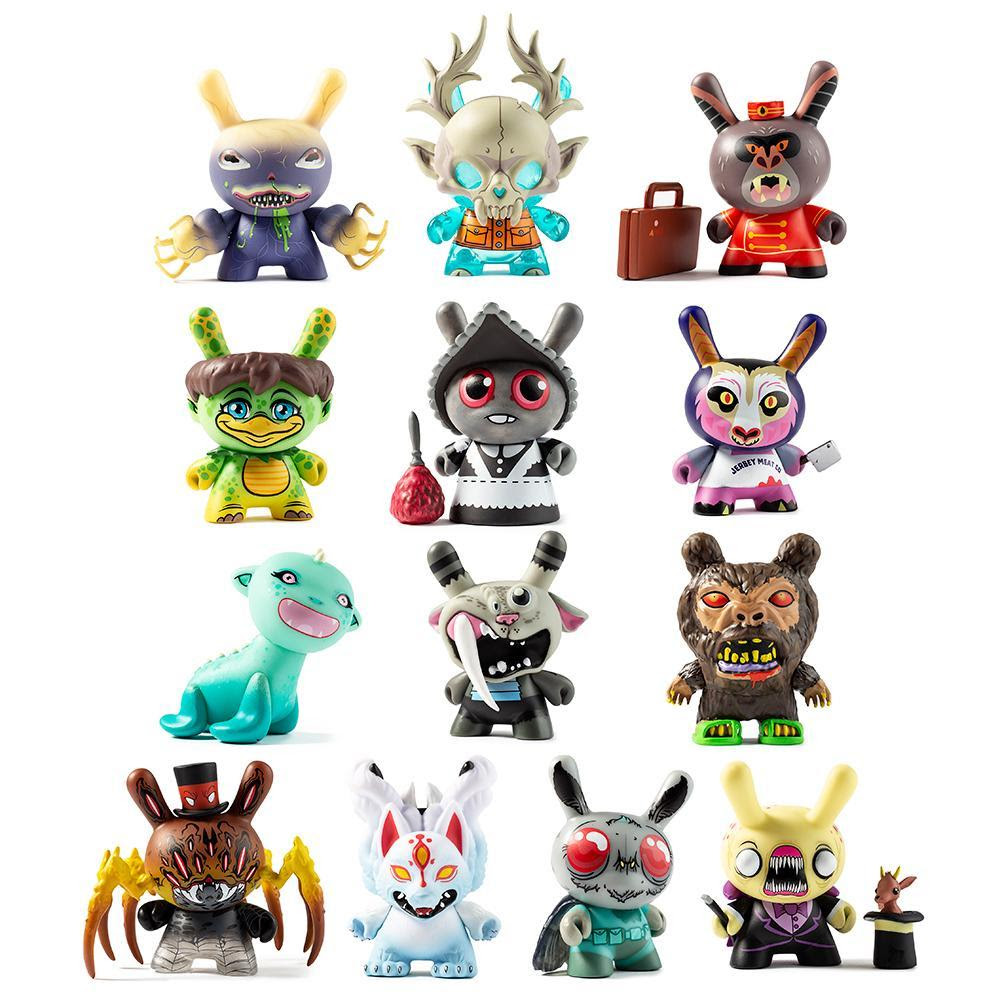 Image of City Cryptid Multi-artist Dunny Art Figure Series by Kidrobot