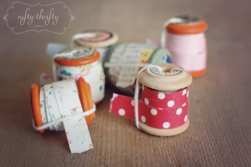 Make your own washi tape.