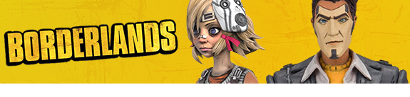 BORDERLANDS 2 COLOR TOPS COLLECTOR EDITION FIGURES
