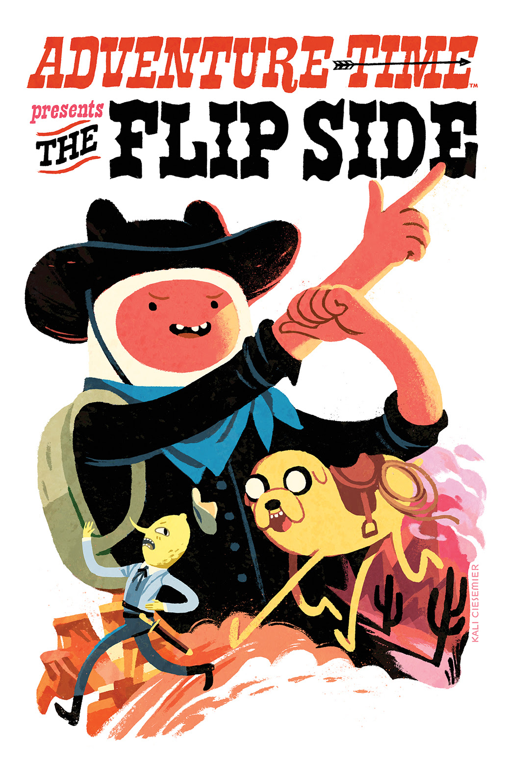 ADVENTURE TIME: THE FLIP SIDE #5 Cover by Kali Ciesemier