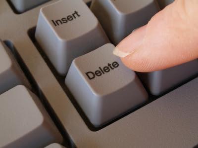 a delete - Inmortalidad artificial