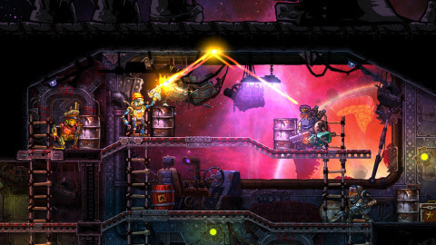 Prepare to command robot pirates in epic tactical shootouts. SteamWorld: Heist is a turn-based strat ...