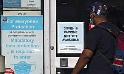 'Not enough to go around': US states struggle to decide who should get Covid vaccine first