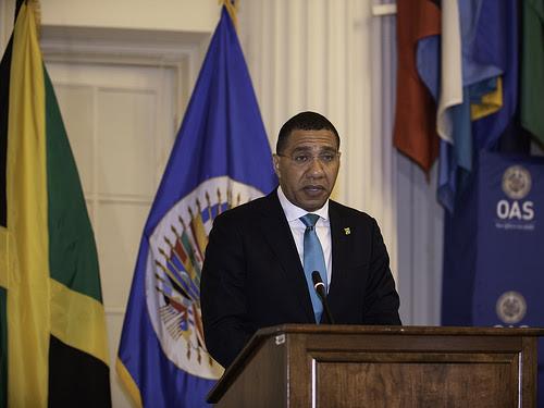 Primer Ministro de Jamaica destaca el papel de la OEA en la región