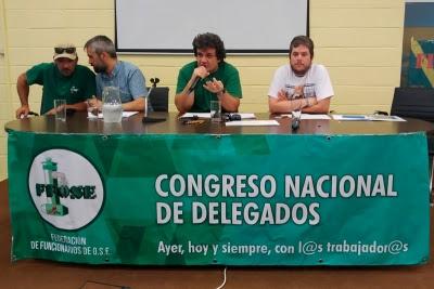 """Congreso nacional de delegados de Ffose analiza el """"cambio de paradigma"""" del futuro gobierno de coalición"""