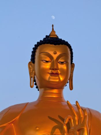 Buddha Jewelry Closed Eye Buddha Monk Thaisee No Evil Posture