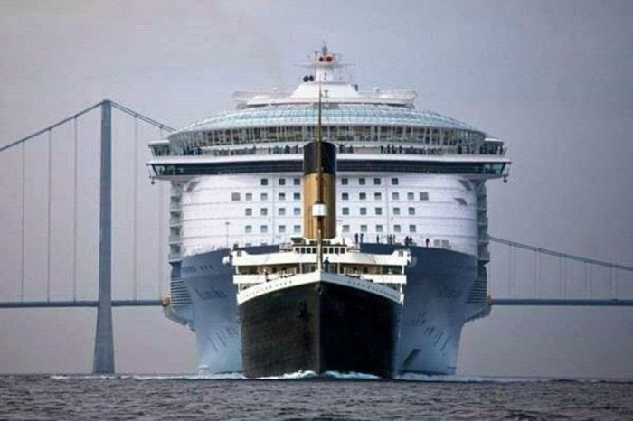 Size Comparison: Titanic Vs. Modern Cruise Ship