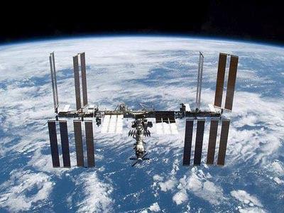 Estación Espacial Internacional.  EFE