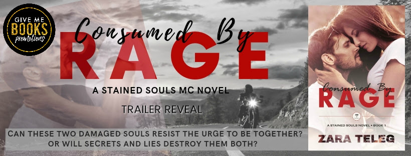 Trailer Reveal – Consumed by Rage by Zara Teleg – Kay Daniels Romance