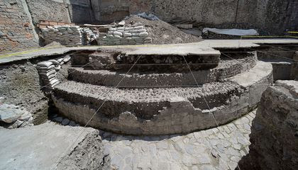 Gigantic Aztec Temple Unearthed in Mexico City