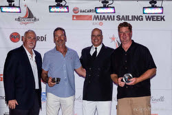 J/70 sailor Paul Cayard in Miami- Bacardi Sailing Week