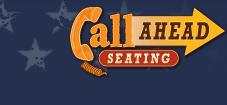 Call Ahead Seating