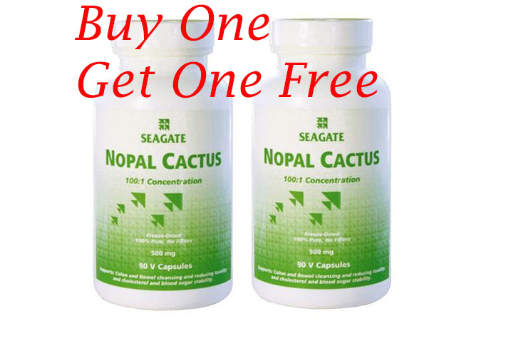 March deal – Nopal Cactus 90 caps – Buy 1 Get 1 free