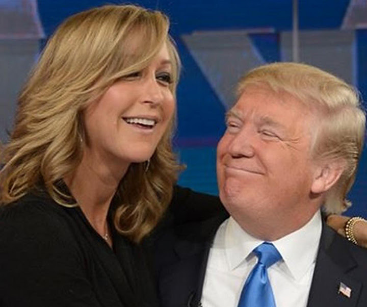 LARA SPENCER AND DONALD TRUMP