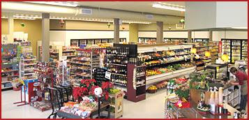 Maupin Market Interior