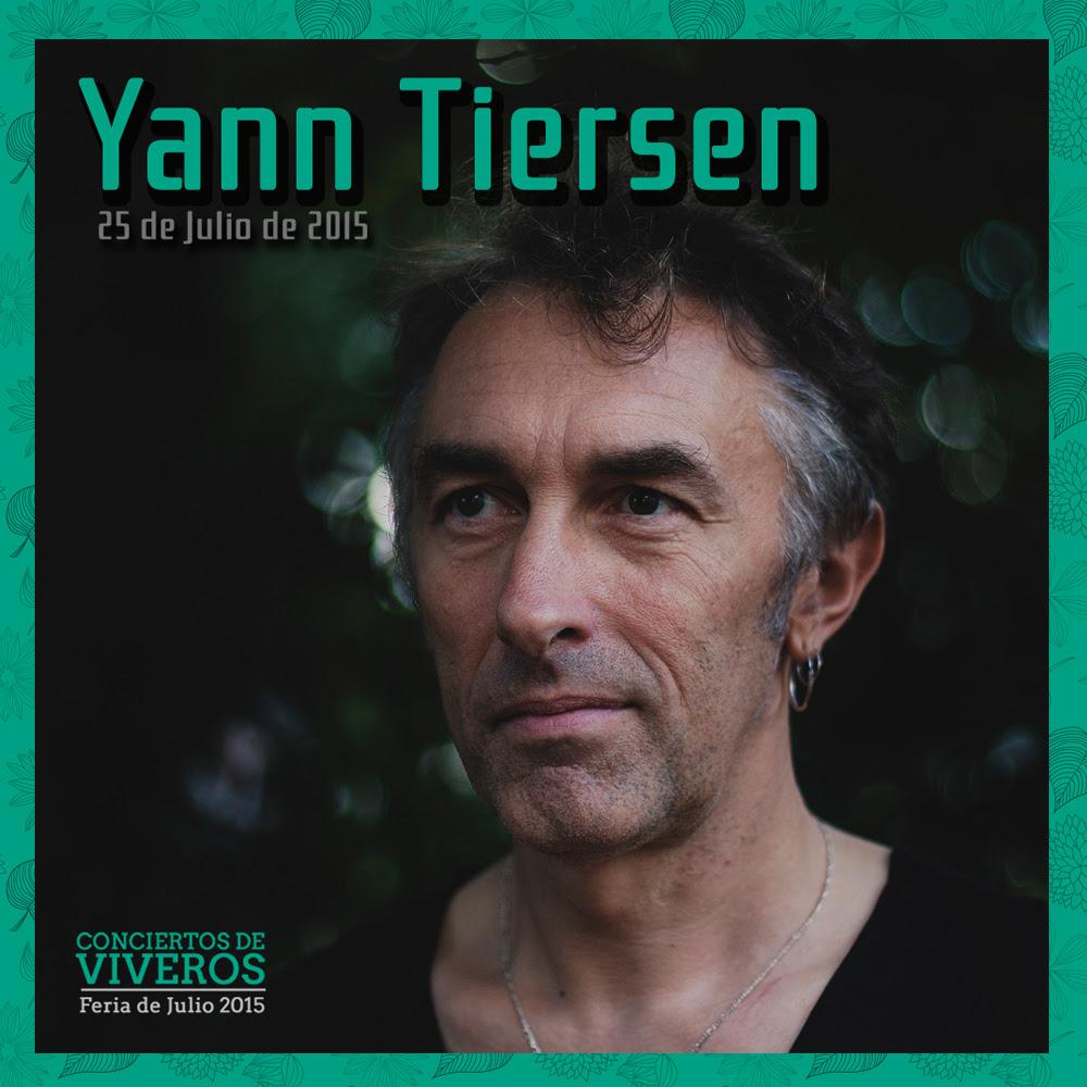 Concierto de Yann Tiersen en conciertos de viveros 2015