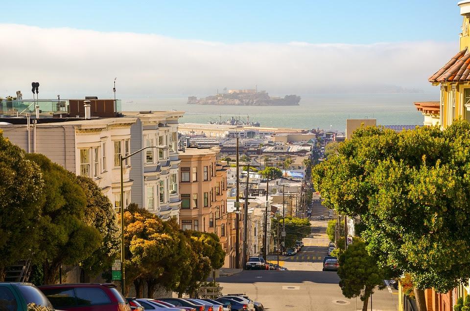 São Francisco, Califórnia, Eua, América, Cidade