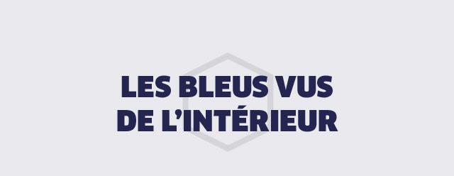 LES BLEUS VUS DE L'INTERIEUR