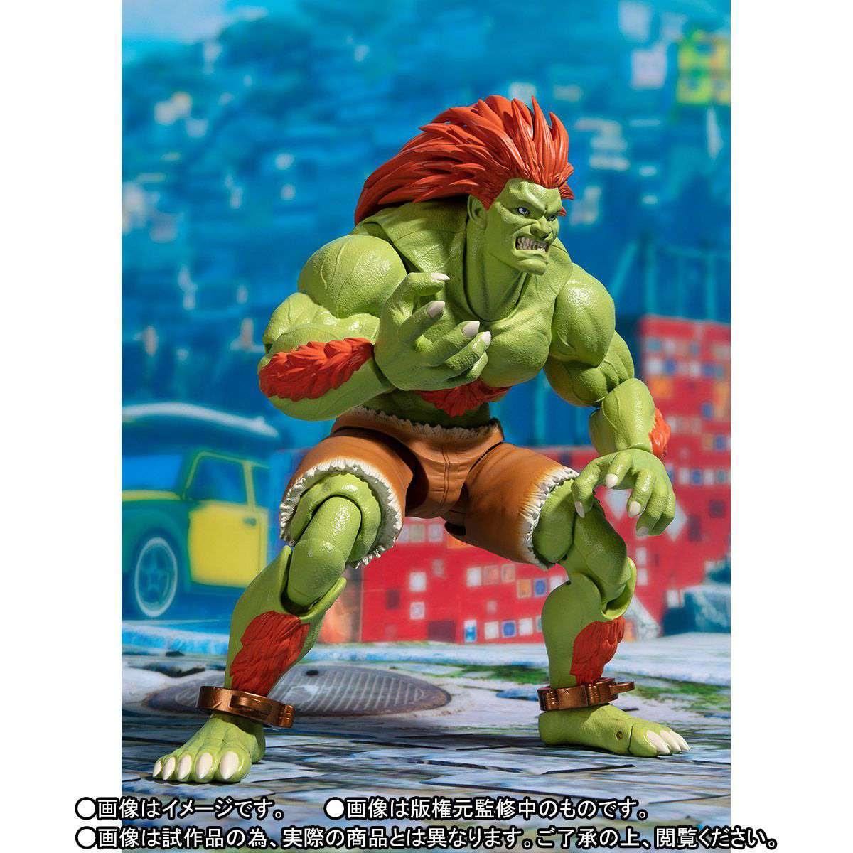 Image of SH Figuarts Street Fighter Blanka