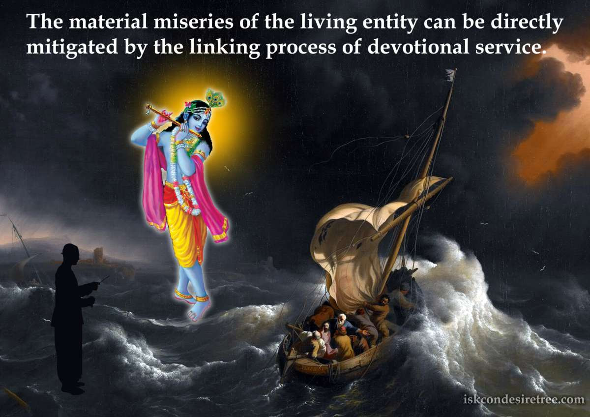 Srimad Bhagavatam on Mitigating Material Miseries