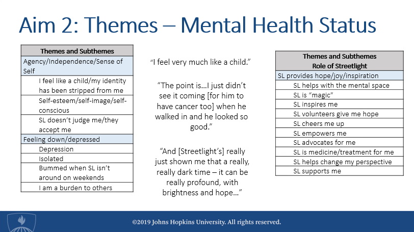 "Screenshot from Dr. Lindsay Hebert's dissertation, ""Evaluating Strategies to Address Quality of Life and Health Related Quality of Life among Chronically Ill Adolescents in the Inpatient Setting."""
