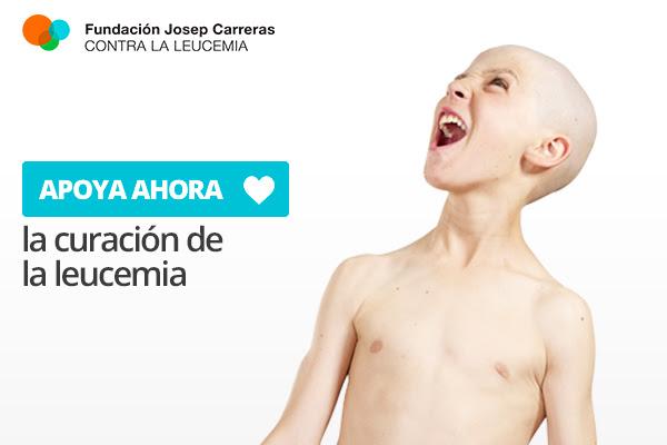 Apoya la curación de la leucemia