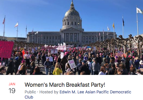 Women's March Breakfast Party!