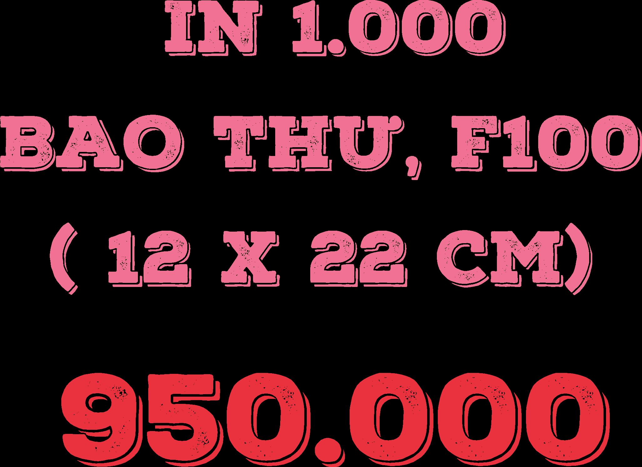 THIẾT KẾ MIỄN PHÍ 1000 tờ rơi 589.000, 1.000 cuon Catalogue 3.899.000, - 5