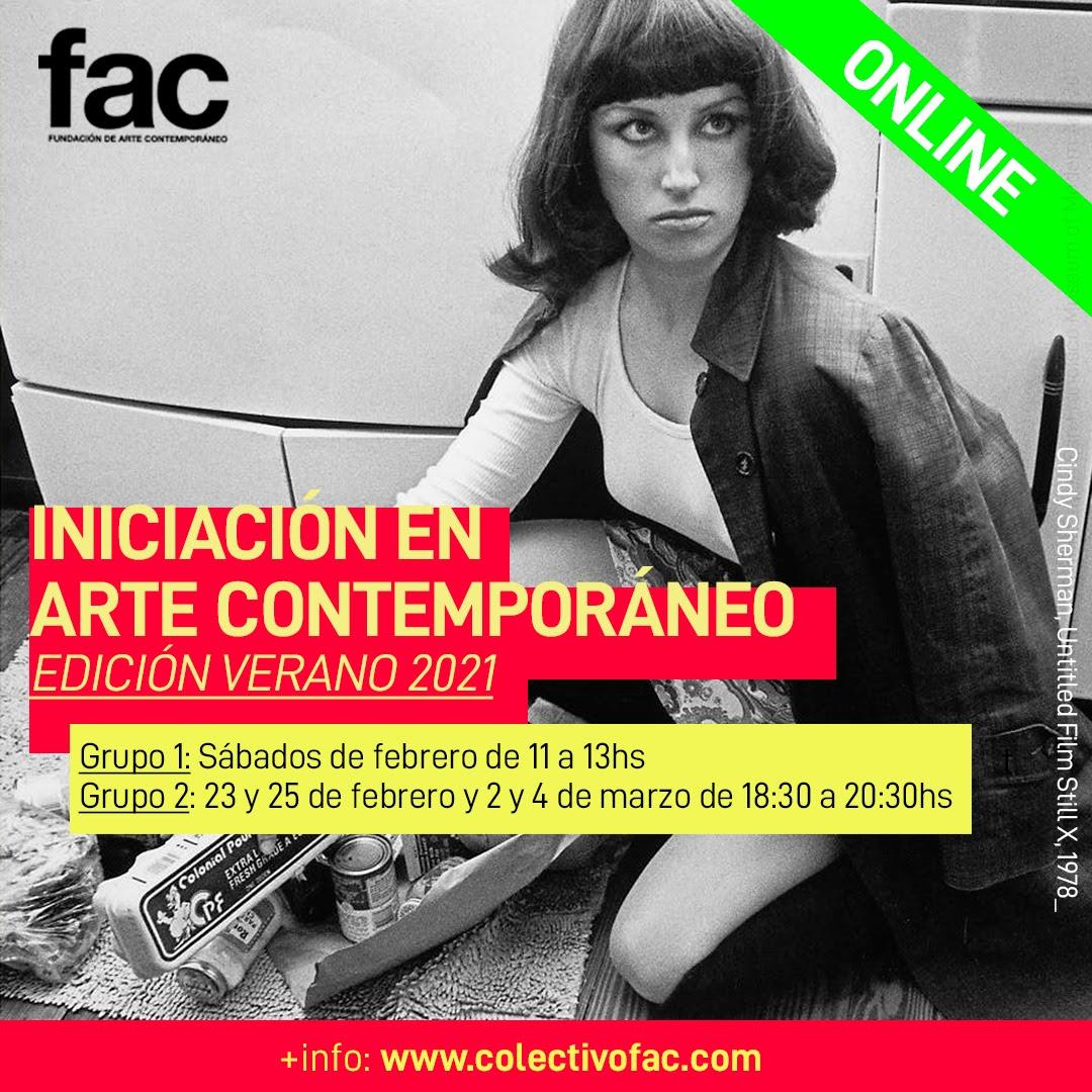 Iniciación en arte contemporáneo | Edición Verano 2021