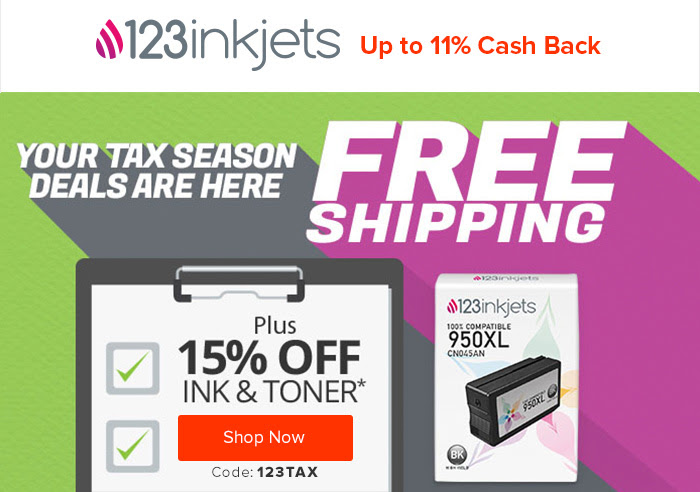 123inkjets - 11% Cash Back