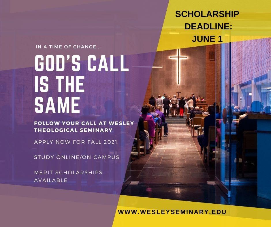 wesley merit scholarship