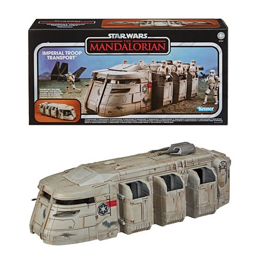 Image of Star Wars The Vintage Collection The Mandalorian Imperial Troop Transport Vehicle