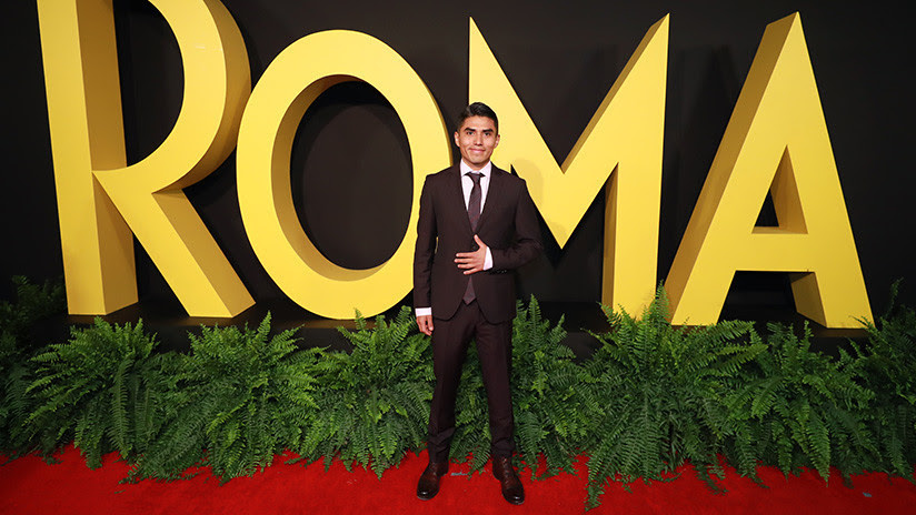 EE.UU. niega 3 veces la visa al actor que interpreta a Fermín en 'Roma' y puede perderse los Oscar
