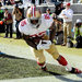 Investors will be able to buy a stake in the future income stream of the San Francisco 49ers tight end Vernon Davis, pictured on Jan. 12.