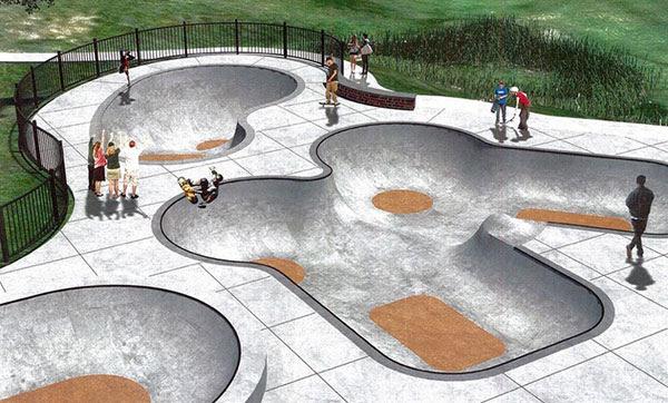 McIntire Skatepark, Charlottesville, Virginia