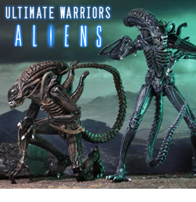 ALIEN ULTIMATE WARRIOR FIGURES