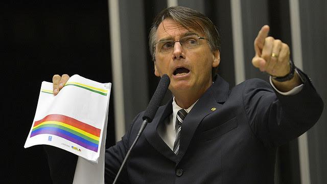 Jair Bolsonaro es conocido por su discurso homófobo y violento - Créditos: Agencia Brasil