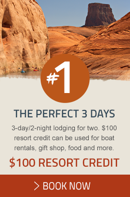 Book your Perfect 3 Days and receive a $100 Resort Credit